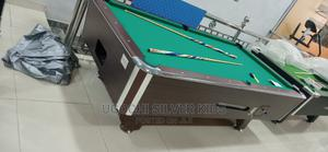British Marble Coin Standerd Snooker Board With Sticks | Sports Equipment for sale in Lagos State, Surulere