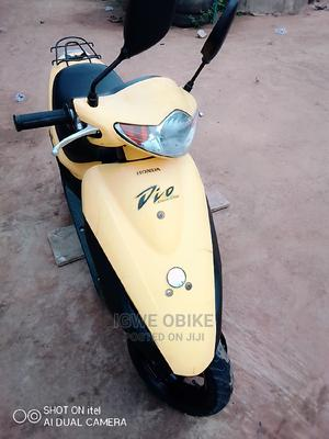 Honda Dio 2015 Yellow | Motorcycles & Scooters for sale in Lagos State, Ogba