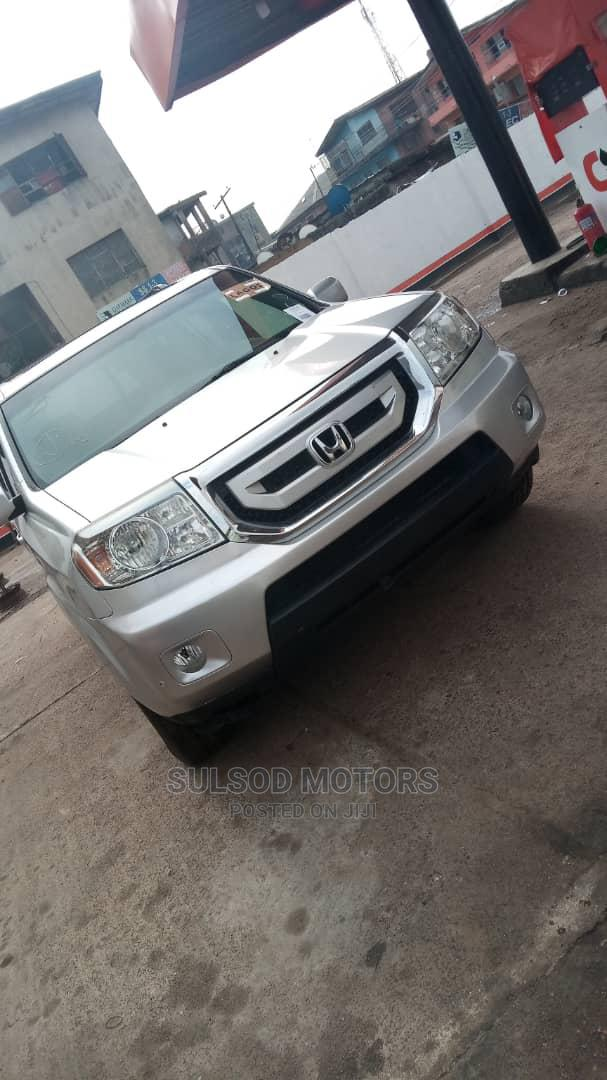Honda Pilot 2010 Silver | Cars for sale in Mushin, Lagos State, Nigeria