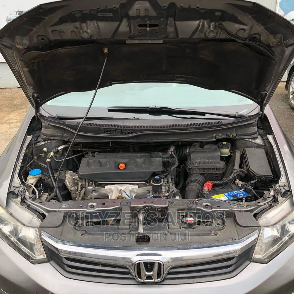 Honda Civic 2012 Gold | Cars for sale in Magodo, Lagos State, Nigeria