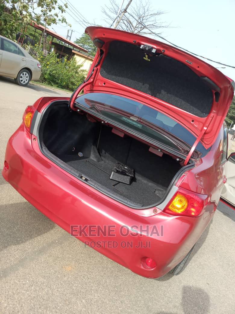 Toyota Corolla 2010 Red | Cars for sale in Ikeja, Lagos State, Nigeria