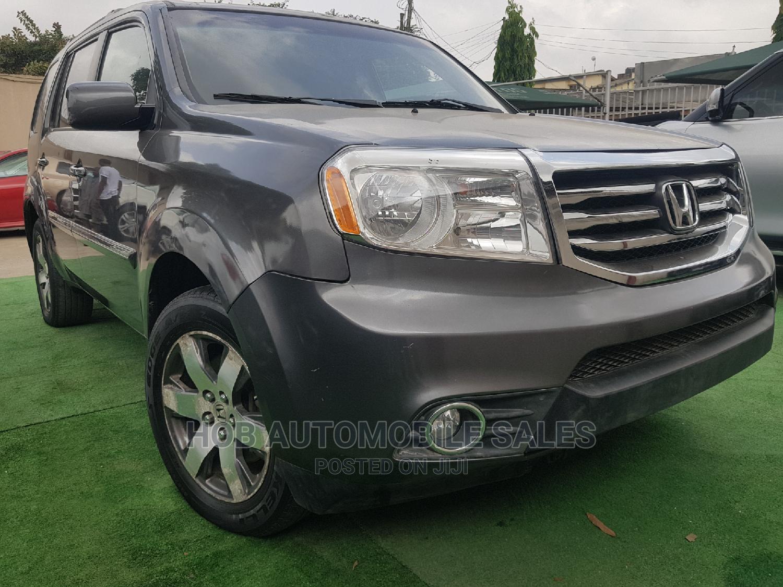 Honda Pilot 2011 Gray   Cars for sale in Ikeja, Lagos State, Nigeria