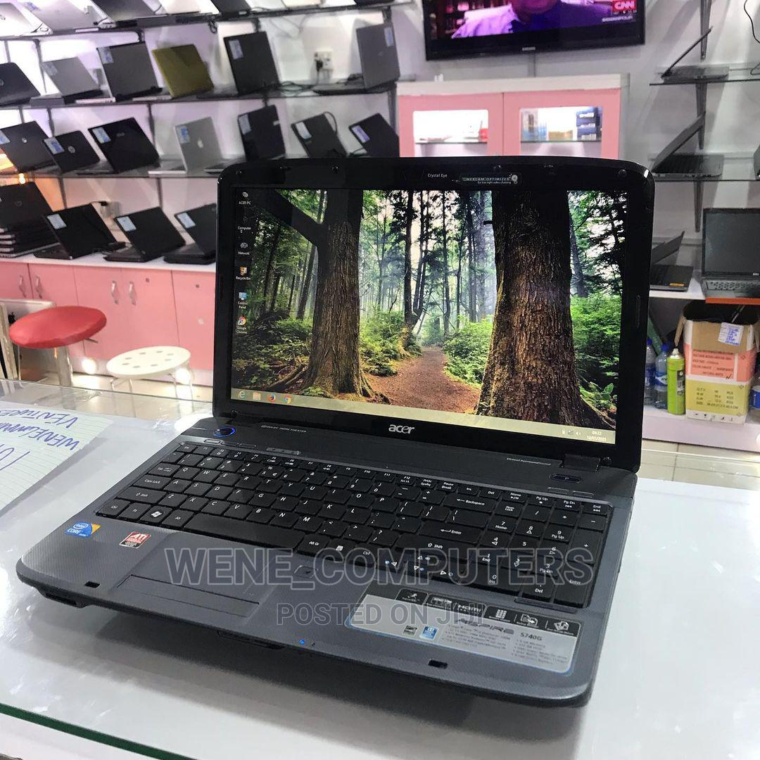 Laptop Acer Aspire 5738 4GB Intel 320GB | Laptops & Computers for sale in Yaba, Lagos State, Nigeria