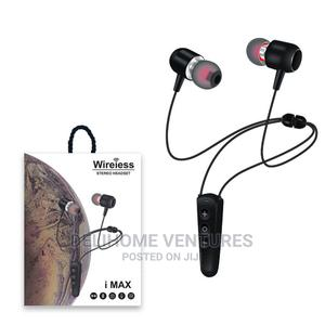 I Max Wireless Magnetic Bluetooth Neckband With Mic   Accessories for Mobile Phones & Tablets for sale in Ogun State, Ado-Odo/Ota