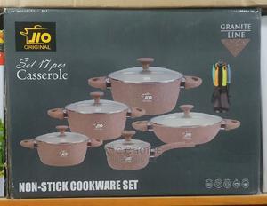 18 Pcs Set Non-Stick Pot and Non-Stick Spoon | Kitchen & Dining for sale in Lagos State, Lagos Island (Eko)