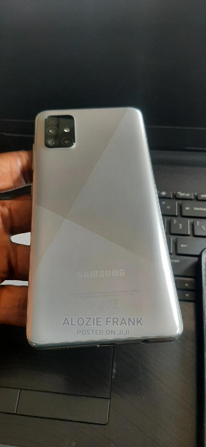 Samsung Galaxy A51 128 GB Silver   Mobile Phones for sale in Ikeja, Lagos State, Nigeria