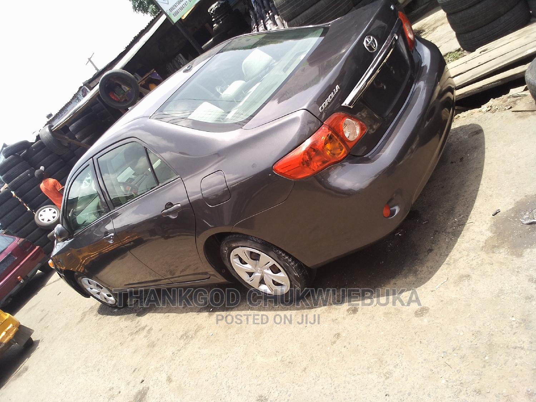 Archive: Toyota Corolla 2009 1.8 Advanced Gray