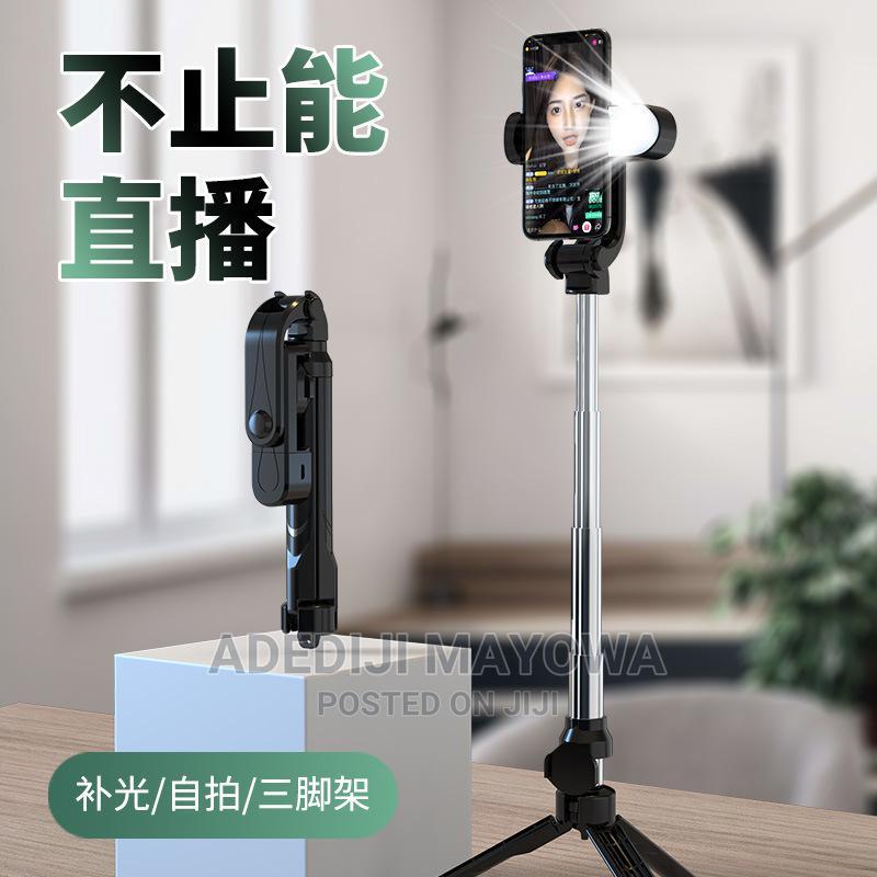 Selfie Stick With Flash Light