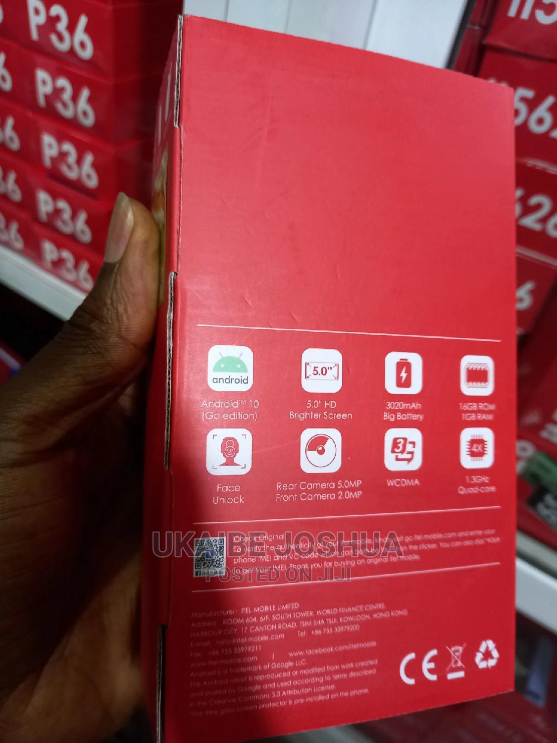 New Itel A36 16GB Green | Mobile Phones for sale in Ikeja, Lagos State, Nigeria