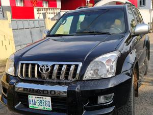 Toyota Land Cruiser Prado 2008 STANDARD Black | Cars for sale in Lagos State, Alimosho