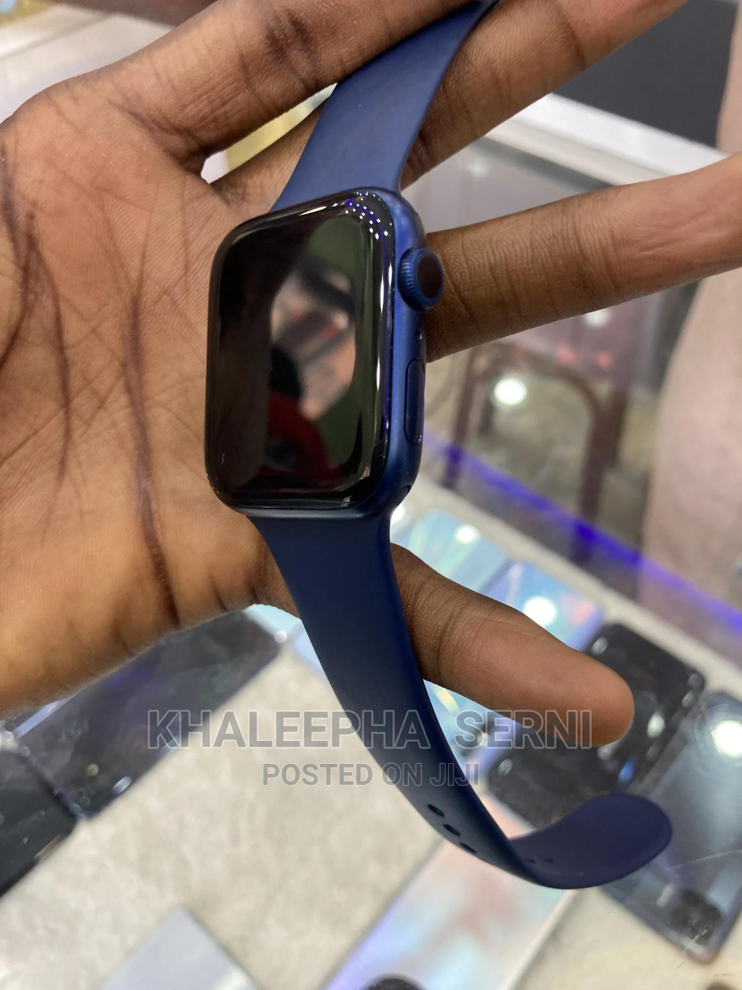 Apple Watch Series 6 Blue | Smart Watches & Trackers for sale in Tarauni, Kano State, Nigeria
