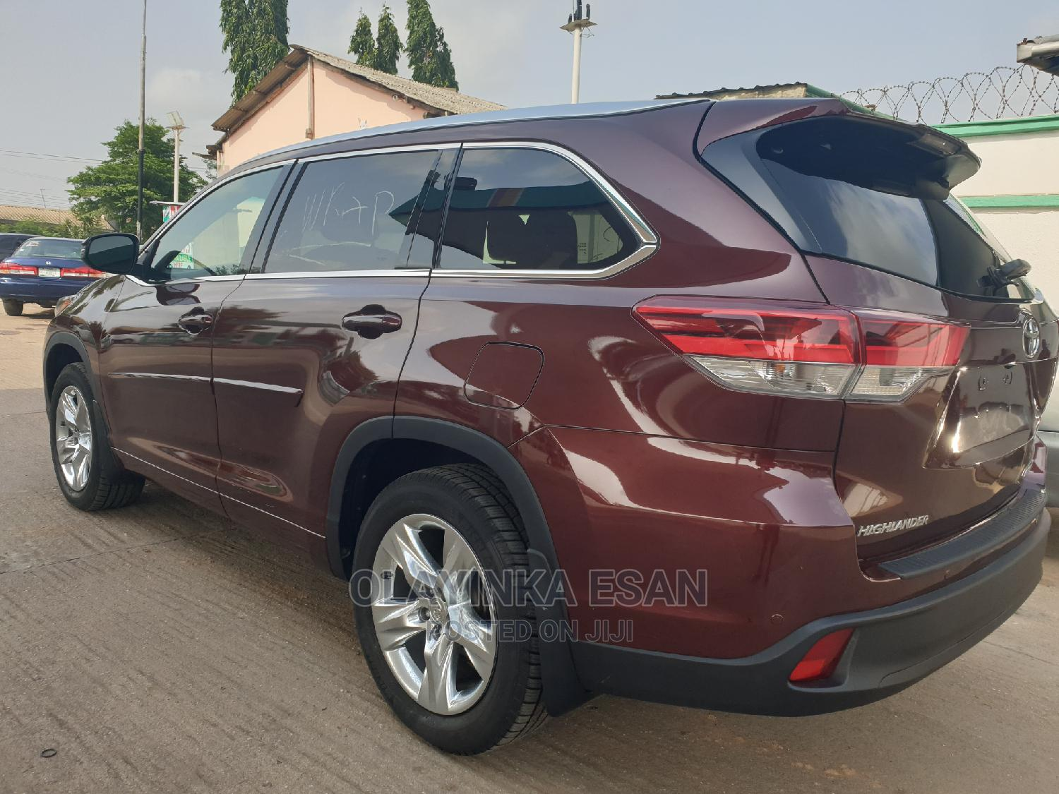 Toyota Highlander 2014 Red | Cars for sale in Alimosho, Lagos State, Nigeria