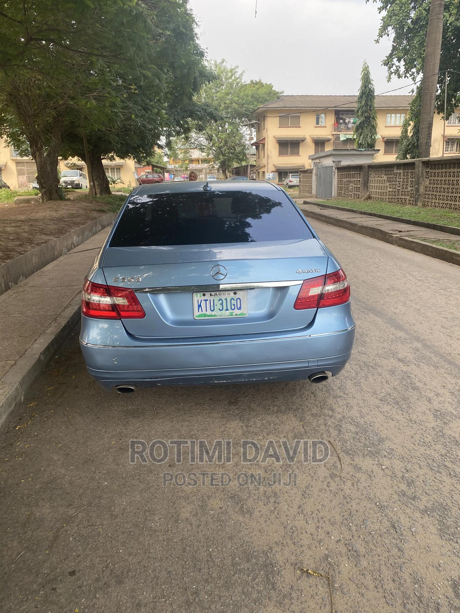 Mercedes-Benz E350 2010 Blue | Cars for sale in Surulere, Lagos State, Nigeria