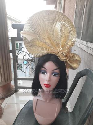 Straw Mat Fascinator | Wedding Wear & Accessories for sale in Lagos State, Amuwo-Odofin