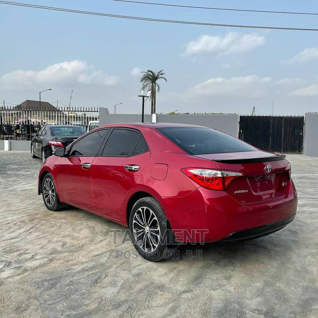 Archive: Toyota Corolla 2015 Red