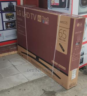 """2020>LG 65""""UHD 4K TV (Webos) Ai Thinq Smart Satellite 65UN74 