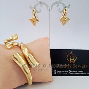 Earring, Ring And Bangle Set   Jewelry for sale in Lagos State, Shomolu