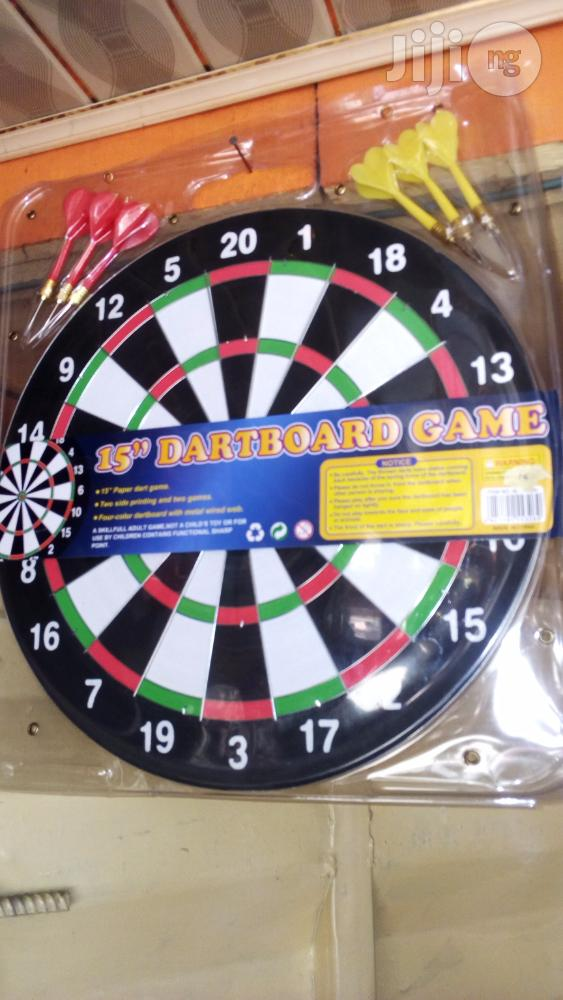 "Archive: 17"" Dartboard Game"