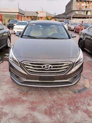 Hyundai Sonata 2016 Brown | Cars for sale in Lagos State, Lekki