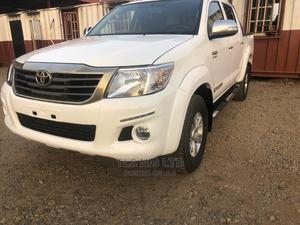 Toyota Hilux 2015 SR5 4x4 White | Cars for sale in Abuja (FCT) State, Kaura