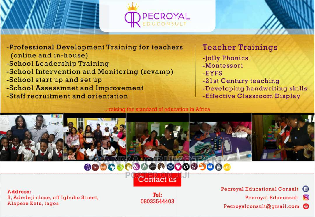 Education Consulting and Training