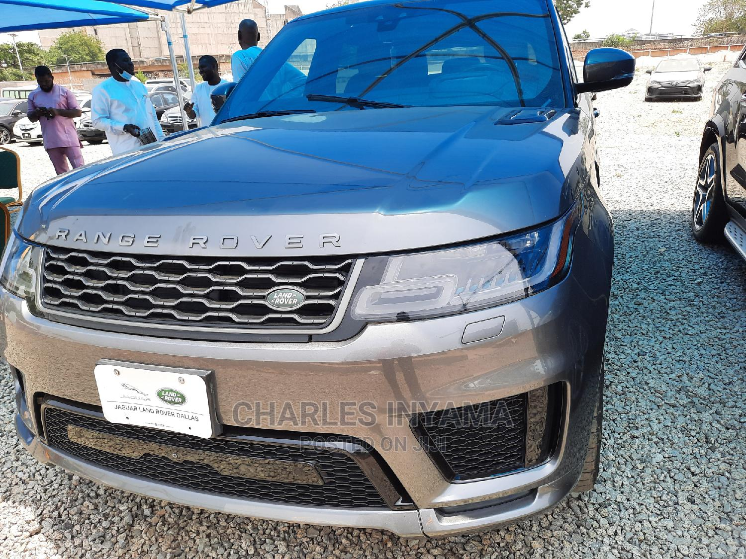 Land Rover Range Rover Sport 2018 Supercharged Gray