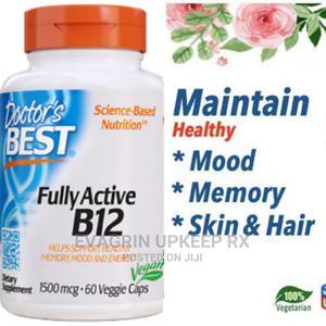 Doctor's Best Fully Active B12 1500mcg Mood Memory Skin Immu | Vitamins & Supplements for sale in Enugu State, Enugu