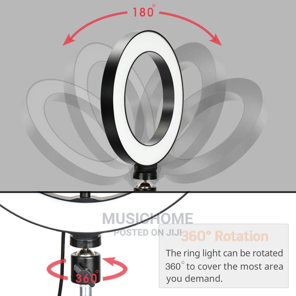 Phone Selfie Tripod Ring Light | Accessories for Mobile Phones & Tablets for sale in Ogudu, Lagos State, Nigeria