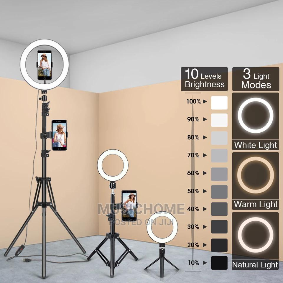 Phone Selfie Tripod Ring Light