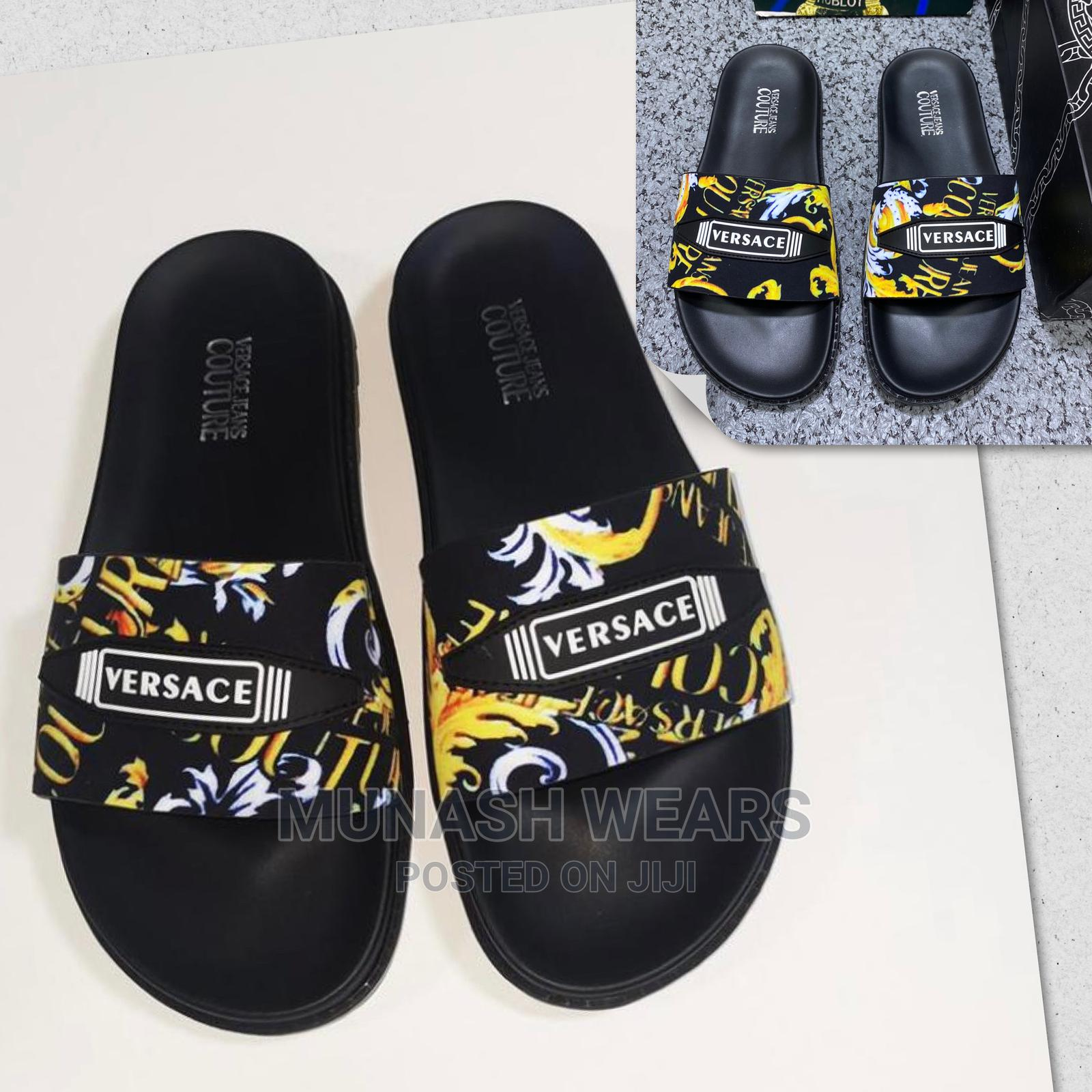 Versace Couture Slides