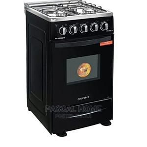 Polystar 4 Bunner Gas Cooker + Auto Ignition Oven Grill   Kitchen Appliances for sale in Lagos State, Ojo