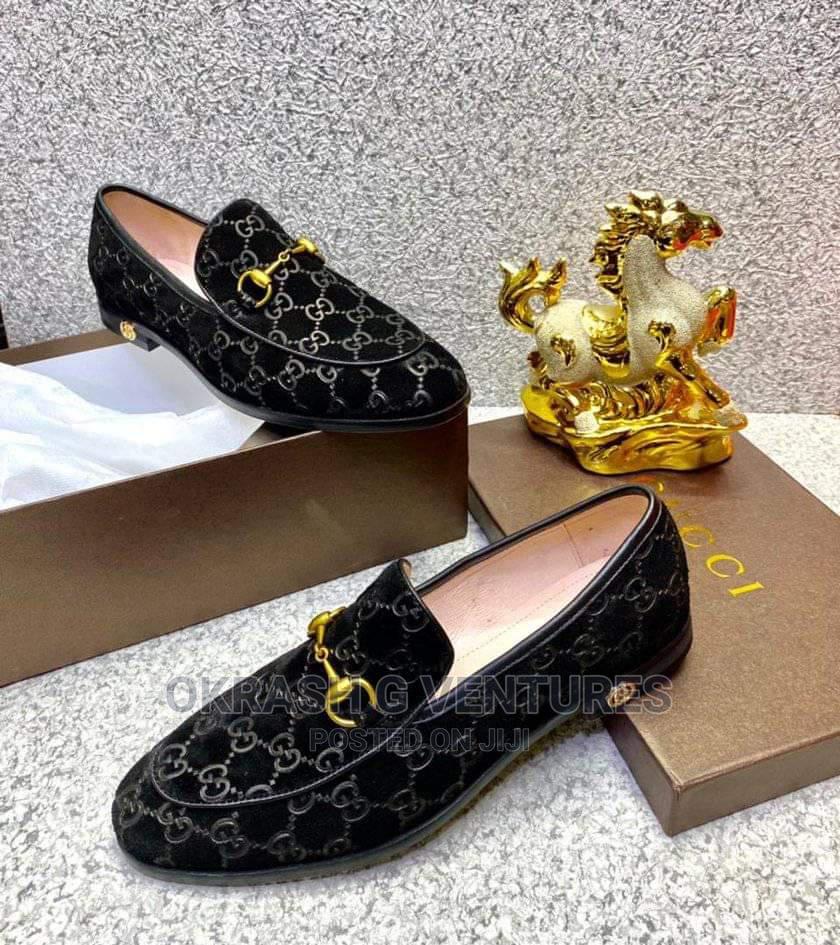 Gucci Suede Shoe for Men's