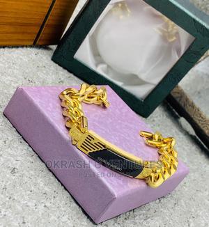 Giorgio Armani Gold Bracelet for Men's | Clothing Accessories for sale in Lagos State, Lagos Island (Eko)