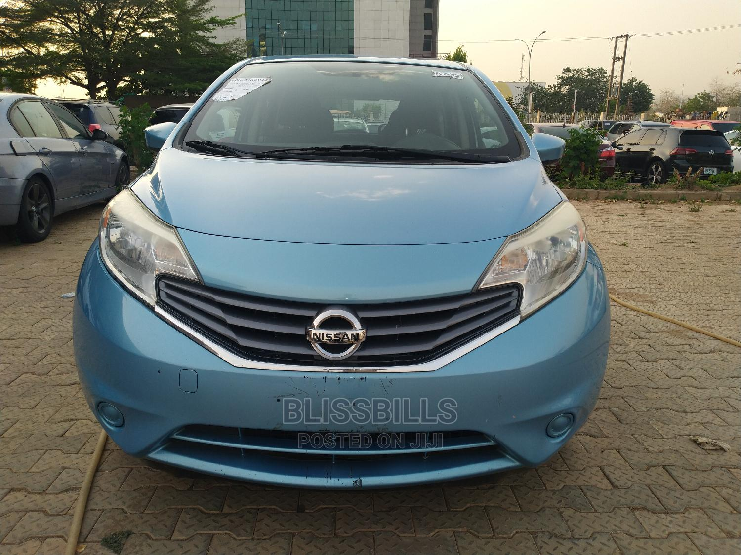 Nissan Versa 2015 Blue   Cars for sale in Central Business Dis, Abuja (FCT) State, Nigeria