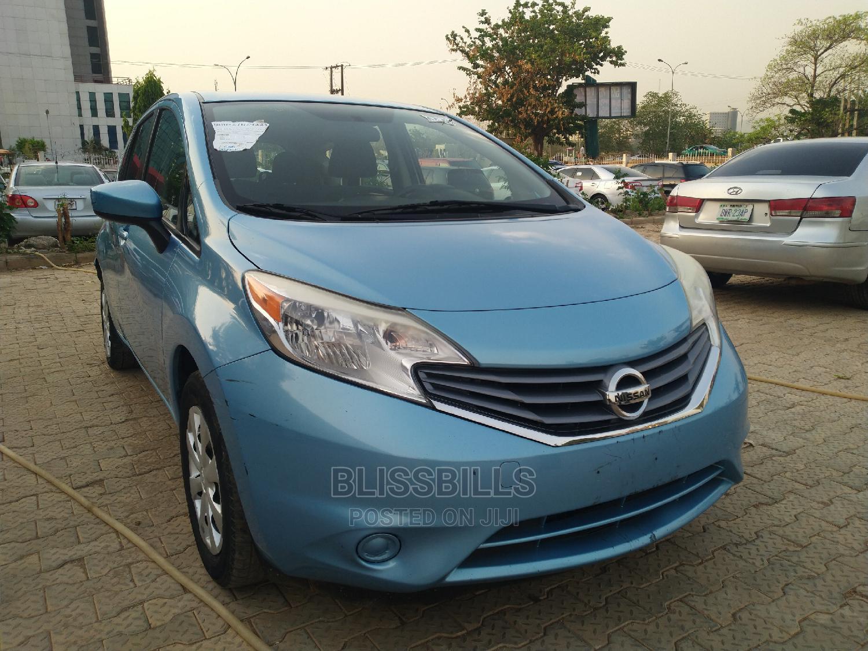 Nissan Versa 2015 Blue