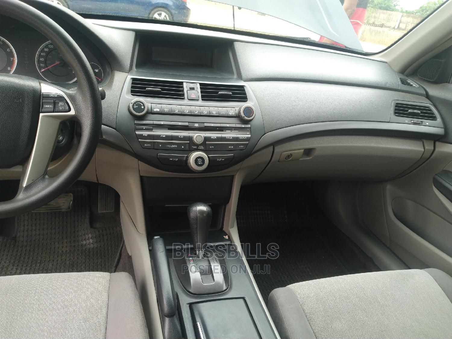 Honda Accord 2008 2.4 EX Automatic Black | Cars for sale in Central Business Dis, Abuja (FCT) State, Nigeria