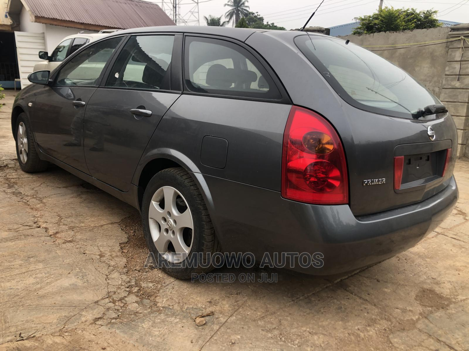 Nissan Primera 2002 Gray   Cars for sale in Alimosho, Lagos State, Nigeria