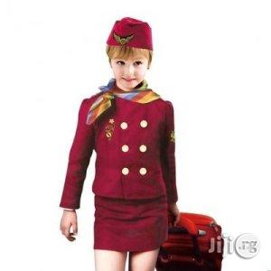 Air Hostess Costume For Kids | Children's Clothing for sale in Lagos State, Ikeja