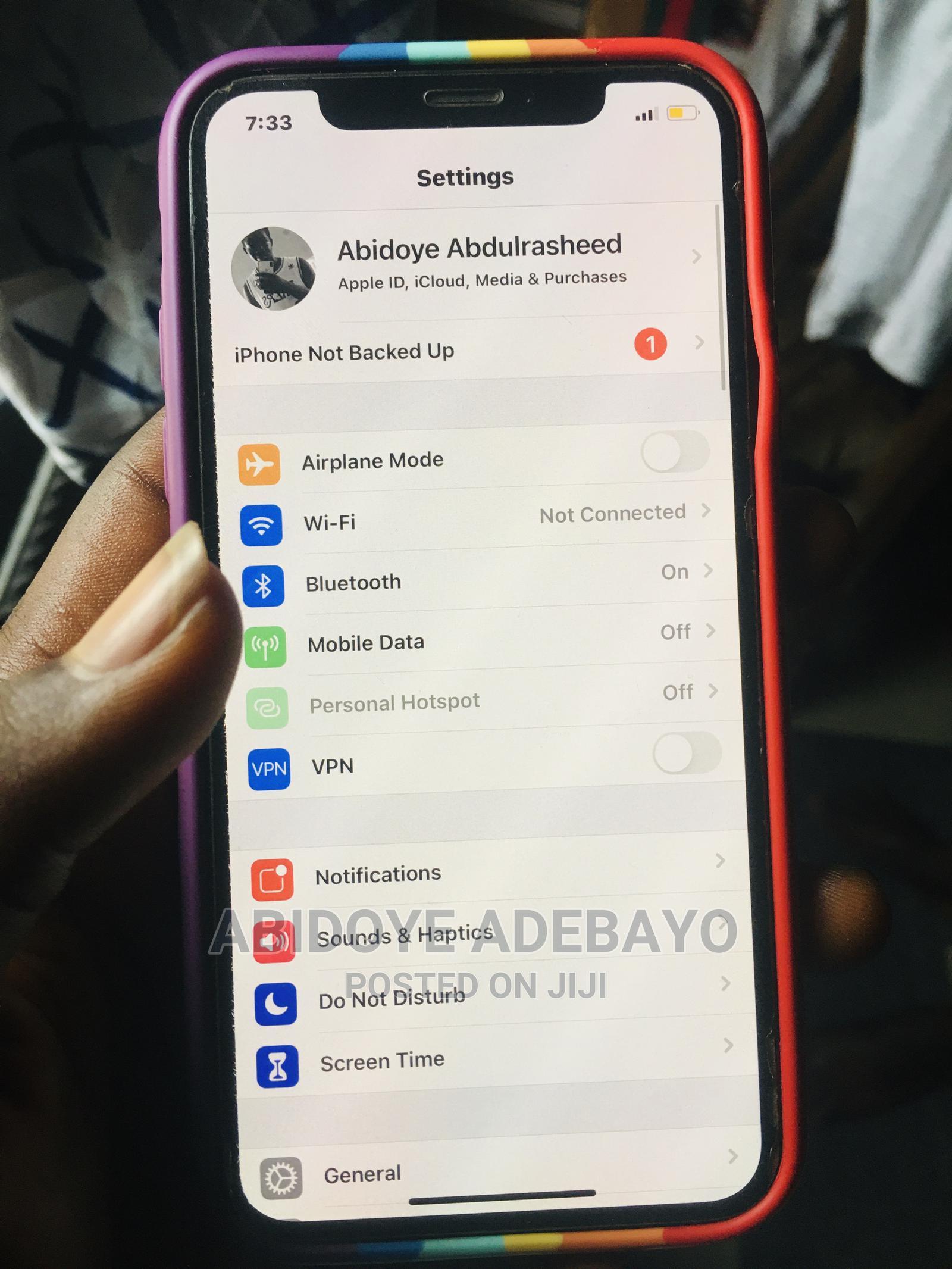 Apple iPhone X 64 GB Black | Mobile Phones for sale in Warri, Delta State, Nigeria