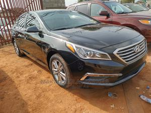 Hyundai Sonata 2017 Black | Cars for sale in Lagos State, Alimosho