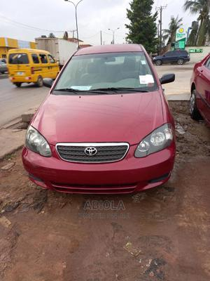 Toyota Corolla 2003 Sedan Red   Cars for sale in Lagos State, Agege