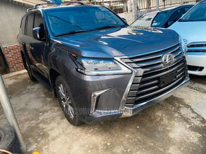 Lexus LX 2018 570 Three-Row Gray   Cars for sale in Lagos State, Surulere