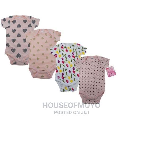 Body Suit Gift Set of 5 - Little Treasure | Children's Clothing for sale in Ikorodu, Lagos State, Nigeria