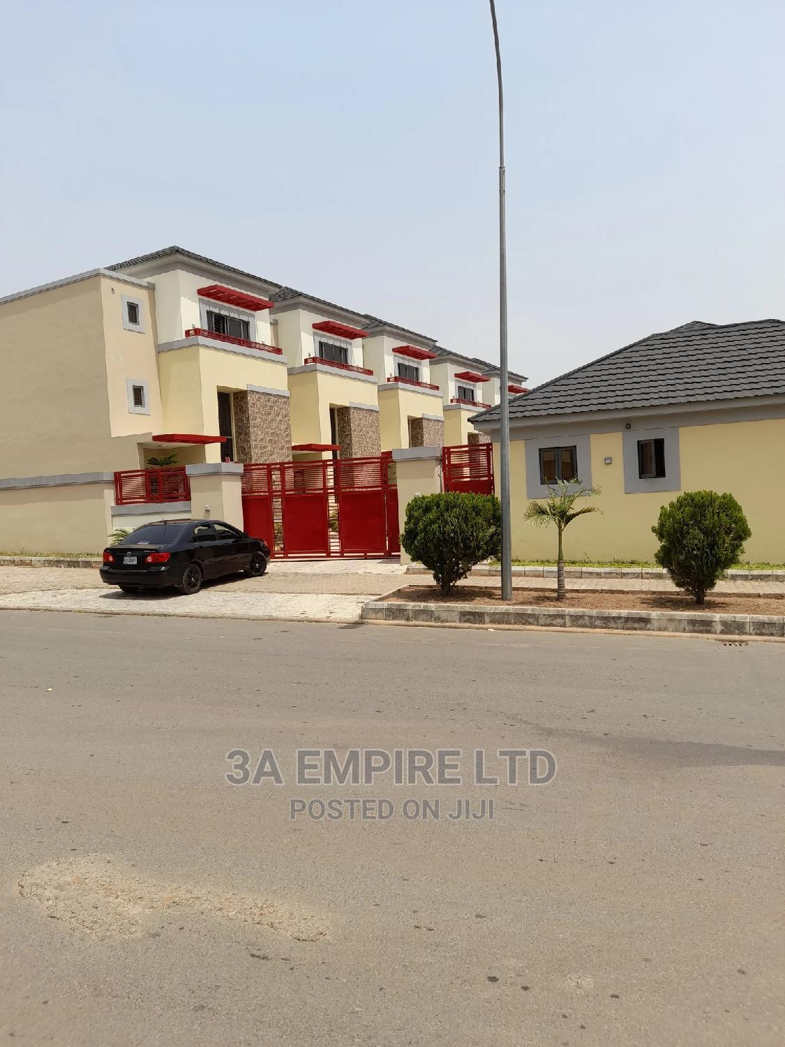 Beautiful 4 Bedroom Terrace Duplex With Bq | Houses & Apartments For Sale for sale in Katampe Extension, Katampe, Nigeria