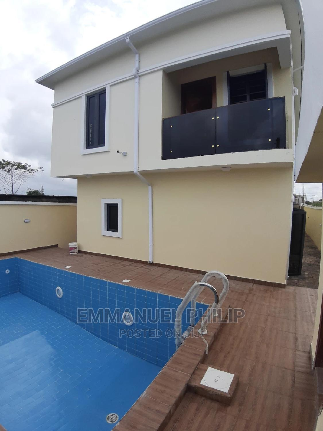 Moderm 4 Bedroom Detached Duplex With Swimming Pool | Houses & Apartments For Sale for sale in Lekki, Lagos State, Nigeria