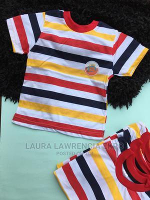 Stripped Tshirt | Children's Clothing for sale in Akwa Ibom State, Uyo