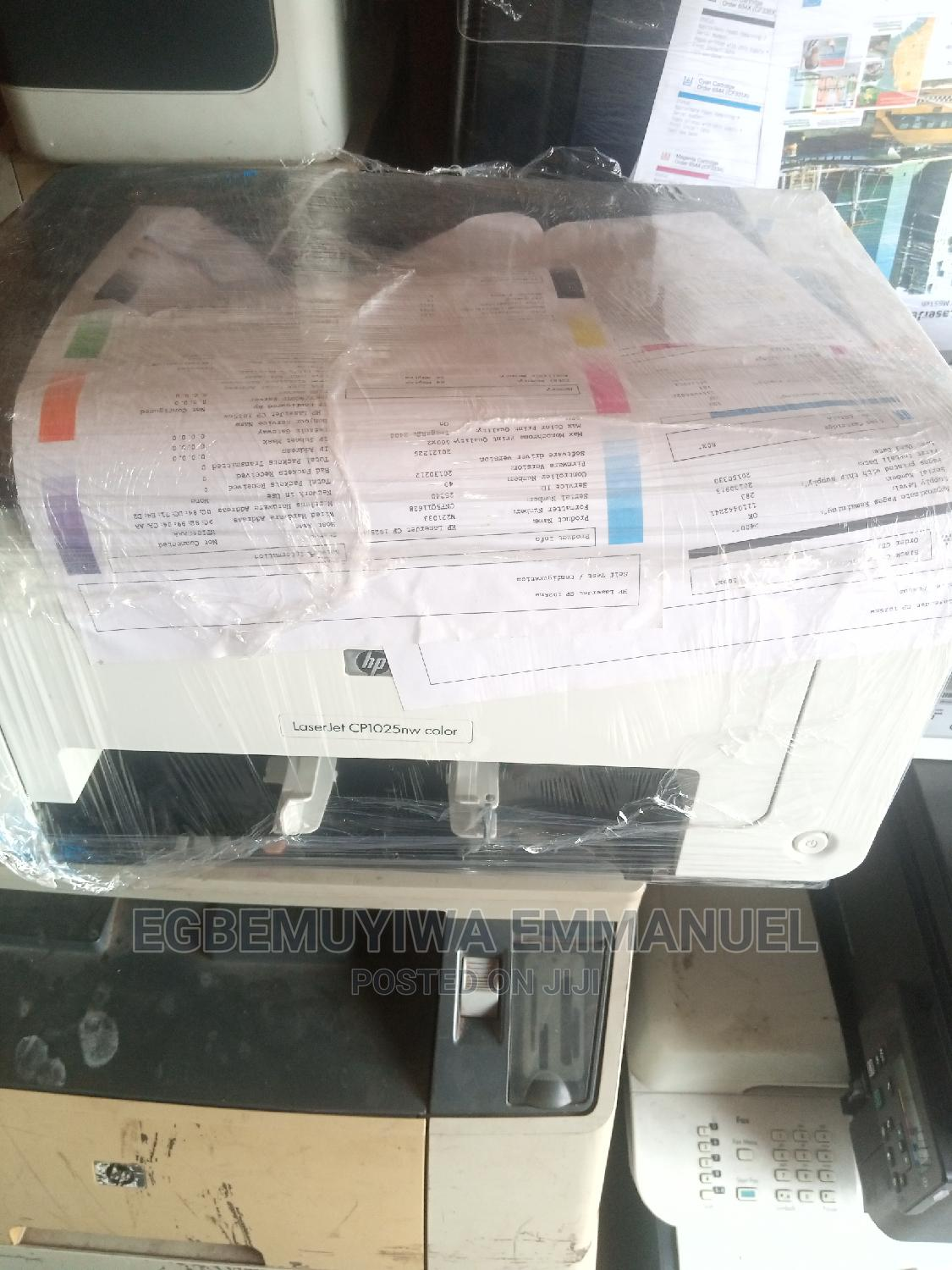 Hp Laserjet Cp1025nw Color Printer | Printers & Scanners for sale in Surulere, Lagos State, Nigeria