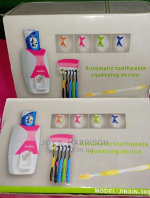 Toothpaste Dispenser And Toothbrush Holder | Home Accessories for sale in Rivers State, Port-Harcourt