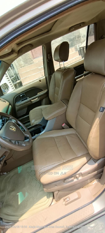 Honda Pilot 2006 EX 4x2 (3.5L 6cyl 5A) Gold   Cars for sale in Garki 2, Abuja (FCT) State, Nigeria