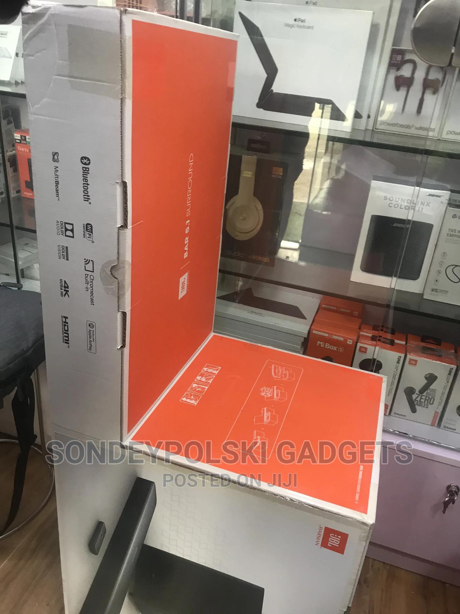 JBL 510w Bar 5.1 - Channel 4k Ultra HD Surround Soundbar | Audio & Music Equipment for sale in Ikeja, Lagos State, Nigeria